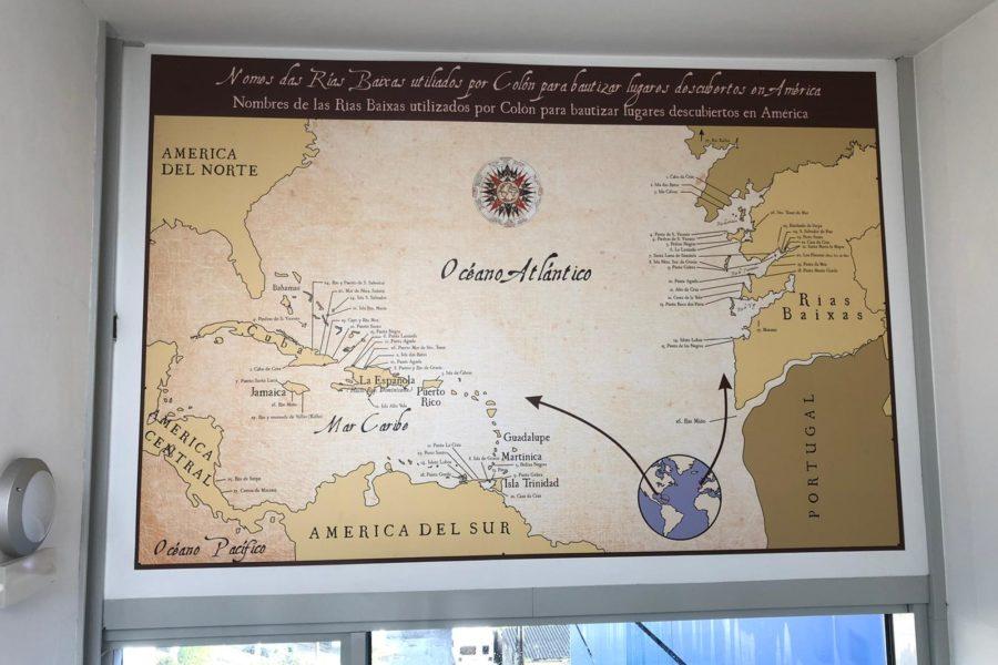 Mapa Museo Casa Colón