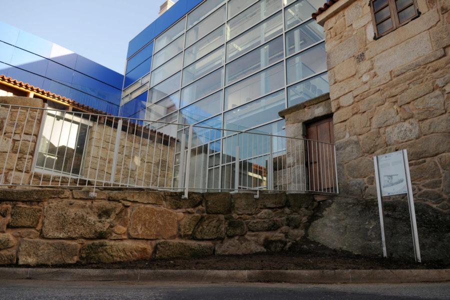Vista lateral. Casa Museo de Colón