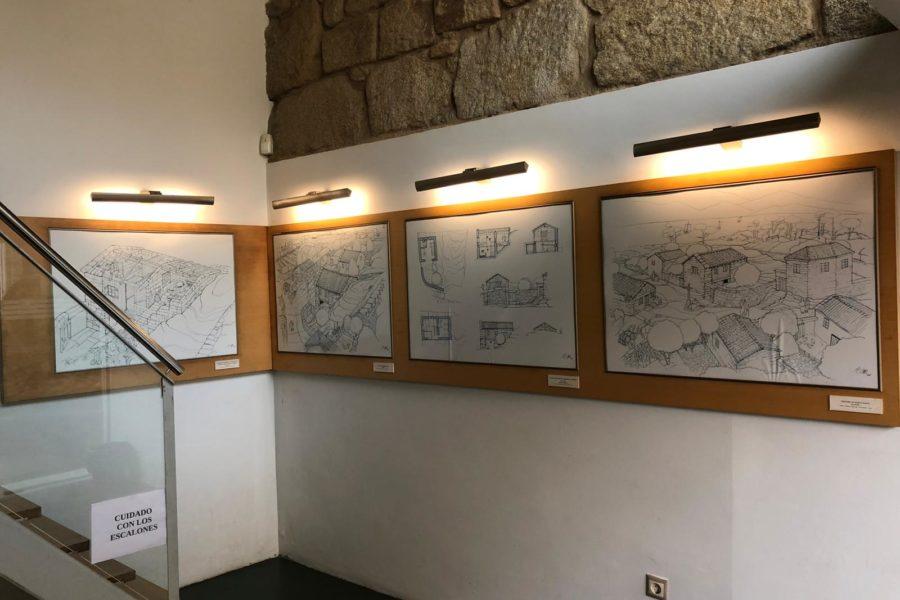 Debuxos Museo Casa Colón